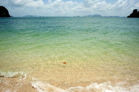 railey: Vista della spiaggia di thai spiaggia Archivio Fotografico