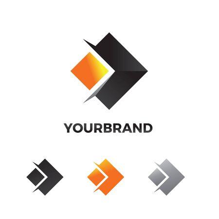 Arrow abstract logo