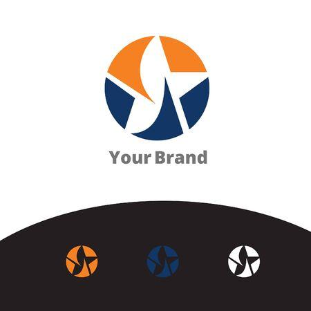 Creative star symbol illustration.