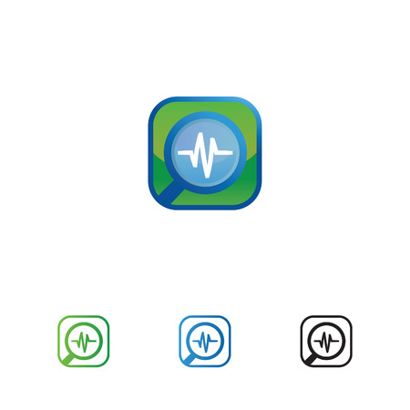 health or medicine finder icon