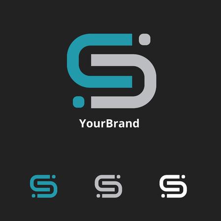 letter S logo Illusztráció