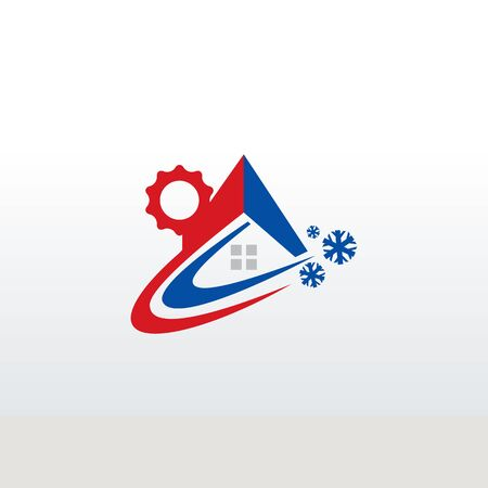 logo of heating and cooling service business