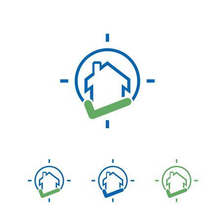 creative house logo or icon