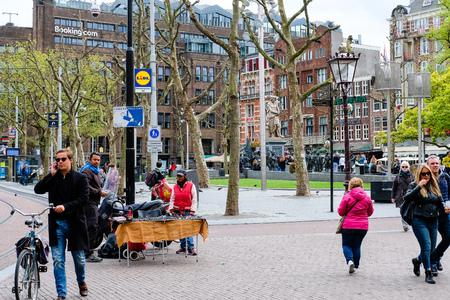 Rembrandt Square Amsterdam