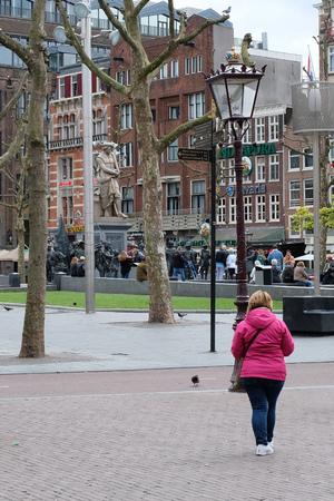 Rembrandt Square, Amsterdam Редакционное