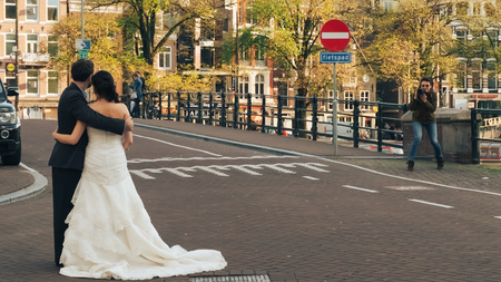 Wedding photosession in Amsterdam