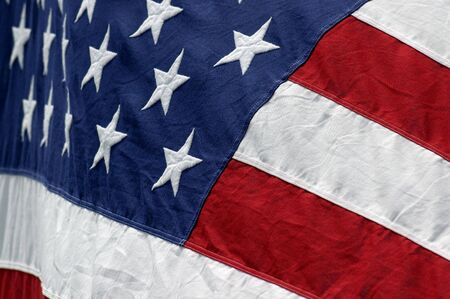 free vote: Flag Of The United States Of America Stock Photo