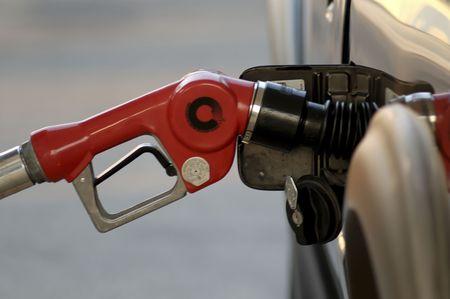 自動車サービス ステーションで給油無人ガソリン ノズル