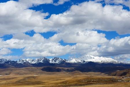 jokul: Landscape of western sichuan plateau in China