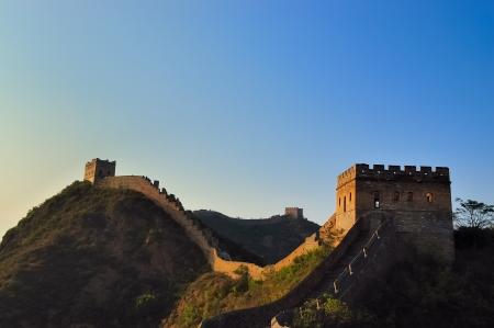impregnable: The great Wall of China(Jinshanling) Stock Photo