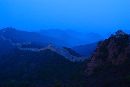 Great Wall of China built in the Ming Dynasty in Jinshanling, Hebei province, China Stock Photo - 8571615