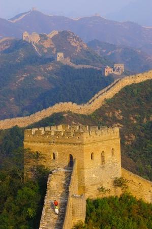 The great Wall of China(Jinshanling) Stock Photo - 8756287