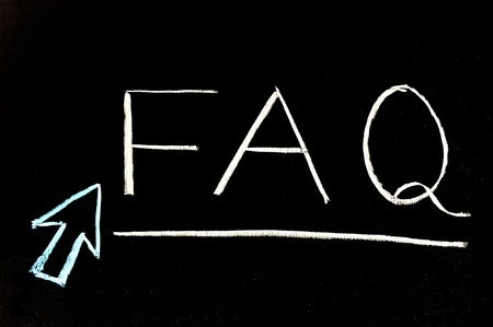 frequently asked question: Chalkboard writing - FAQ, Frequently Asked Question