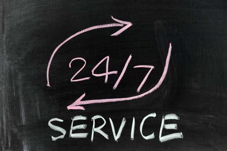 dessin craie: Dessin � la craie conceptuelle - 247 du service