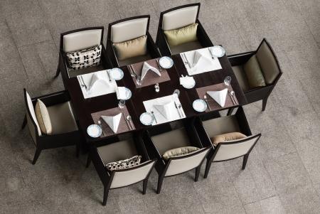 silla de madera: Estilo chino mesa de comedor y sillas