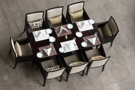 Chinese style dinning table and chairs