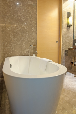 Modern bathtub in the bathroom Stock Photo - 15238816