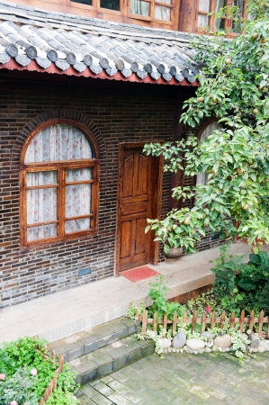 Traditional Naxi Inn in the Shuhe Old Town of Lijiang, a World Cultural Heritage photo
