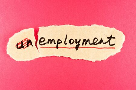 amend: amending unemployment word and changing it  to employment