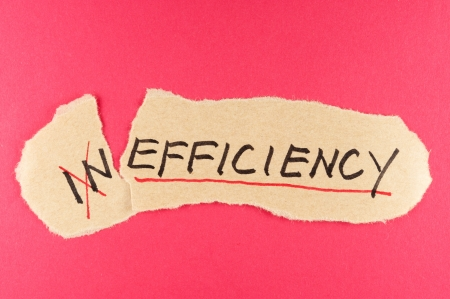 amend: Alter Inefficiency word and changing it  to efficiency