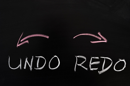 repeal: Undo and redo sign drawn on the chalkboard