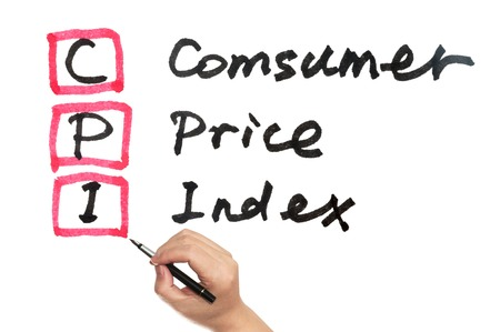 identifying: CPI - Consumer Price Index words written on paper