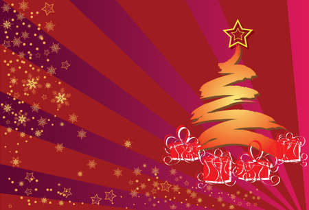 Christmas Star, Xmas backgrounds Holiday and seasonals Illustration