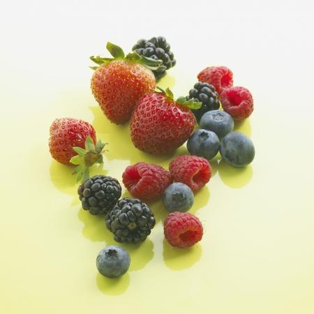 Assortment of Organic Berries
