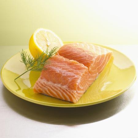 Filet de saumon Banque d'images
