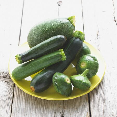 Green Summer Squash Assortment