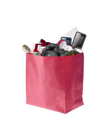 Image of shopping bag full with product photo