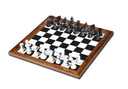 gamesmanship: Chess board