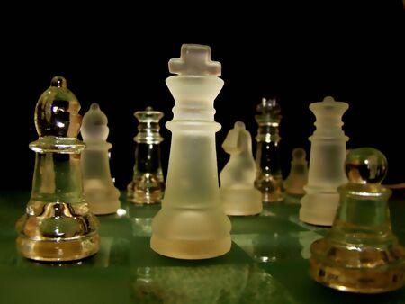 gamesmanship: Chess Stock Photo