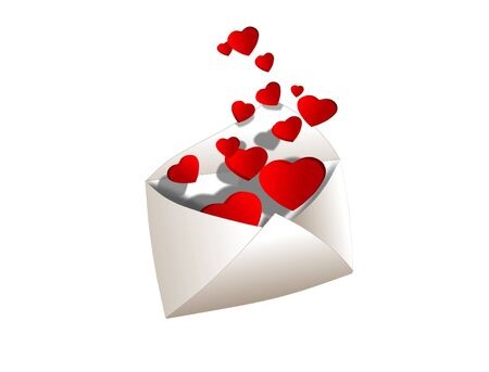 Full of love envelope Stock Photo - 7333747
