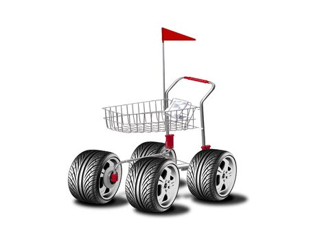 purchaser: Big wheel cart