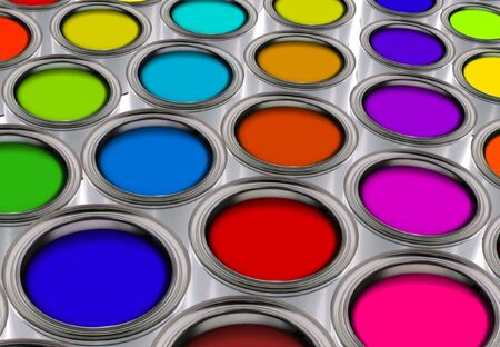 paint tin: color palette