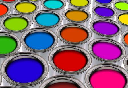 color palette Stock Photo - 7608874
