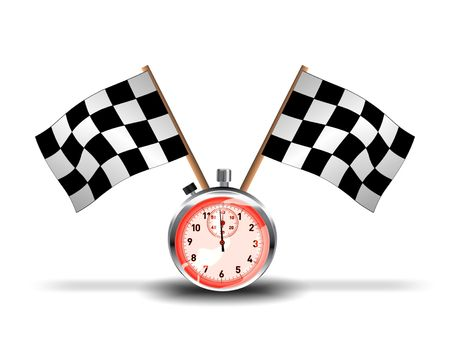 Racing stop-watch photo