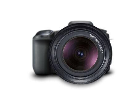 illustration technique: camera lens