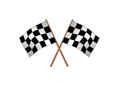 racing flags photo