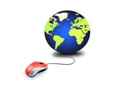 adsl: Web globe