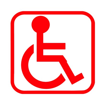 wheelchair logo photo