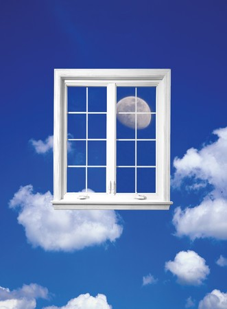 Window of sky photo