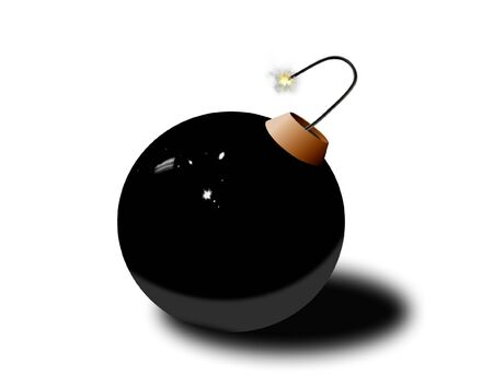 Bomb ready to explode Stock Photo - 8219943