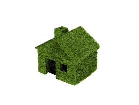 green house isolated photo
