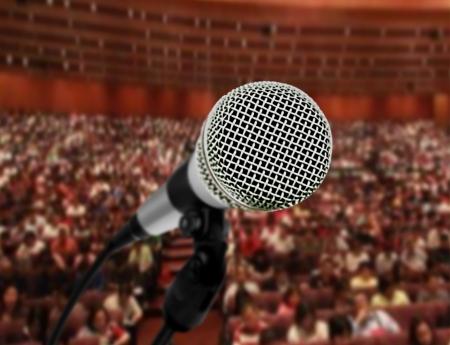 convention hall: Seminar presentation