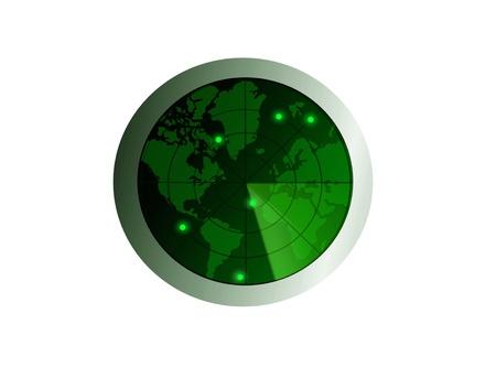 Radar surveillance photo