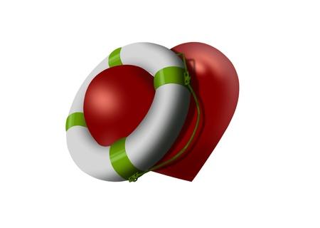 emotional pain: Love buoy