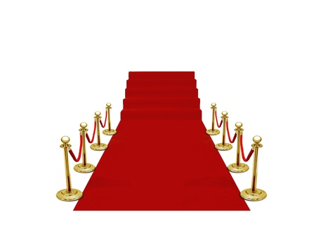 velvet rope barrier: red carpet ceremony