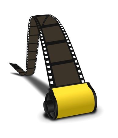 rollo pelicula: Old fashion film cámara